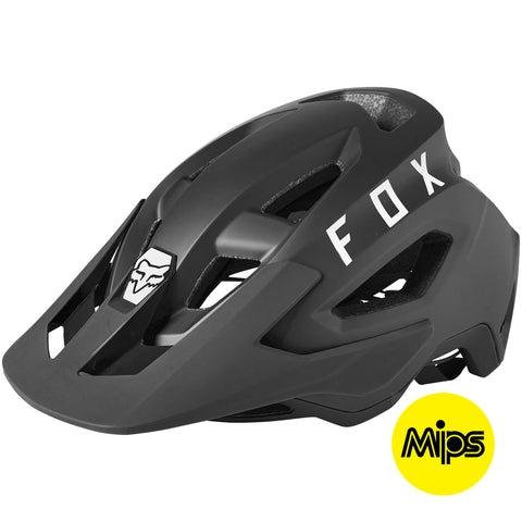 Fox MTB 21 Speedframe Helmet with MIPS Tech (Black)