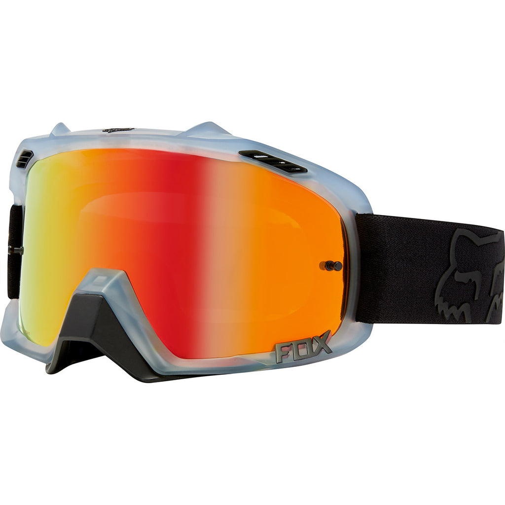 MX18 Fox Air Defence Krona Goggles - Black (Mirror Red Lens)