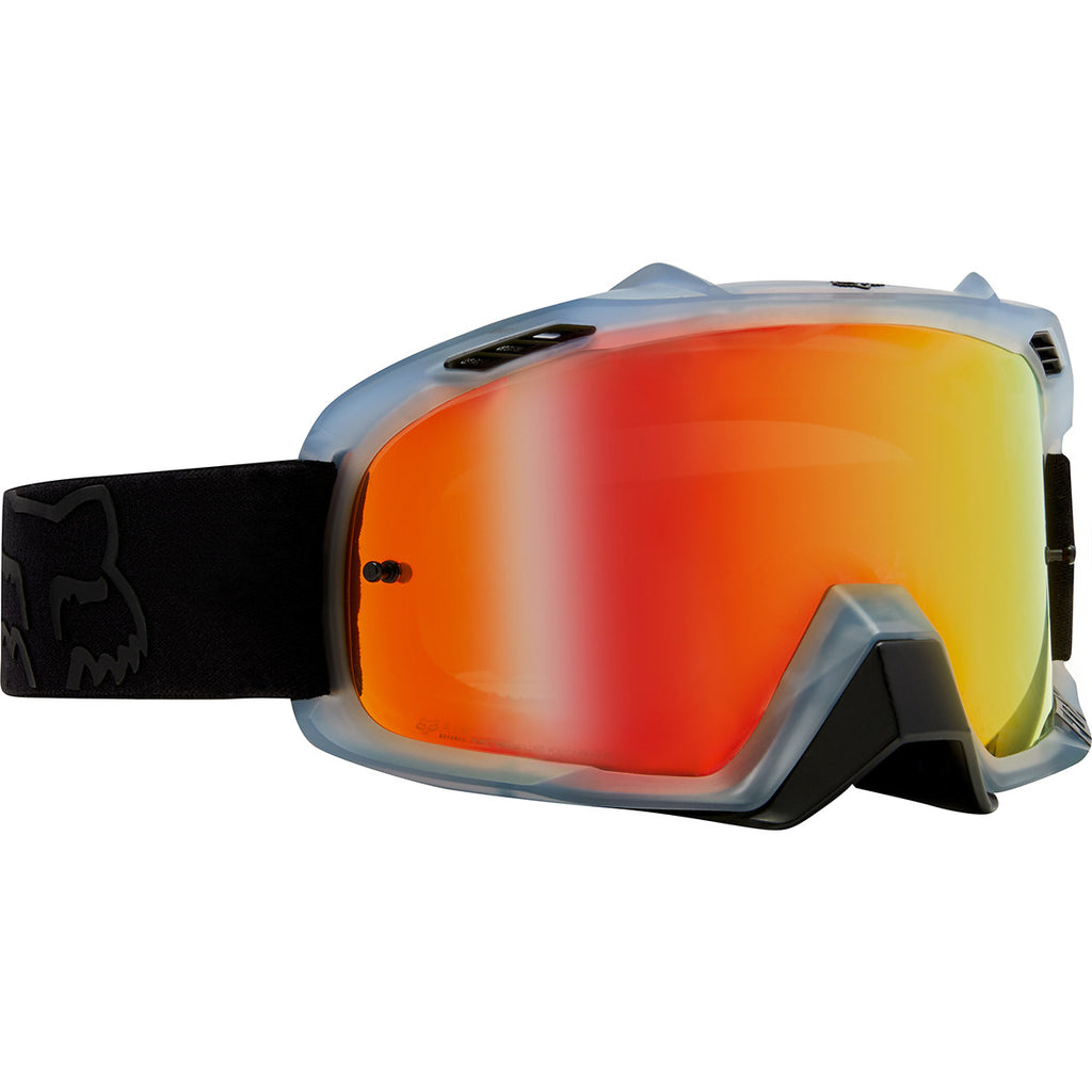 order online reasonably priced the best attitude MX18 Fox Air Defence Krona Goggles - Black (Mirror Red Lens)