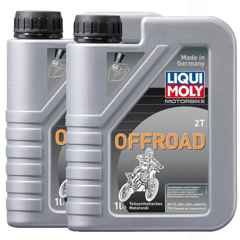 *Multi-Pack* 2 x Liqui Moly 2T Semi-Synthetic (1 Litre)
