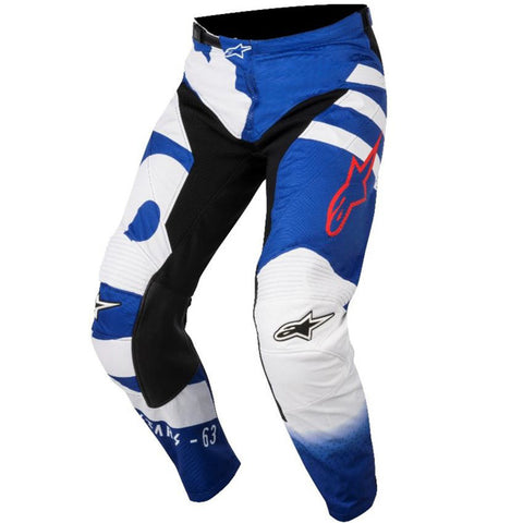 Alpinestars Racer Braap 18 Pants (Black/White/Red)