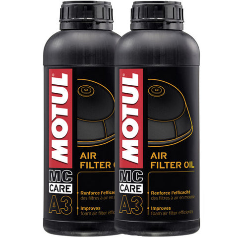 *Multi-Pack* 2 x Motul Air Filter Oil (1 Litre)