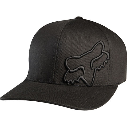 Fox Flex 45 Flexfit Cap (Black/Black)