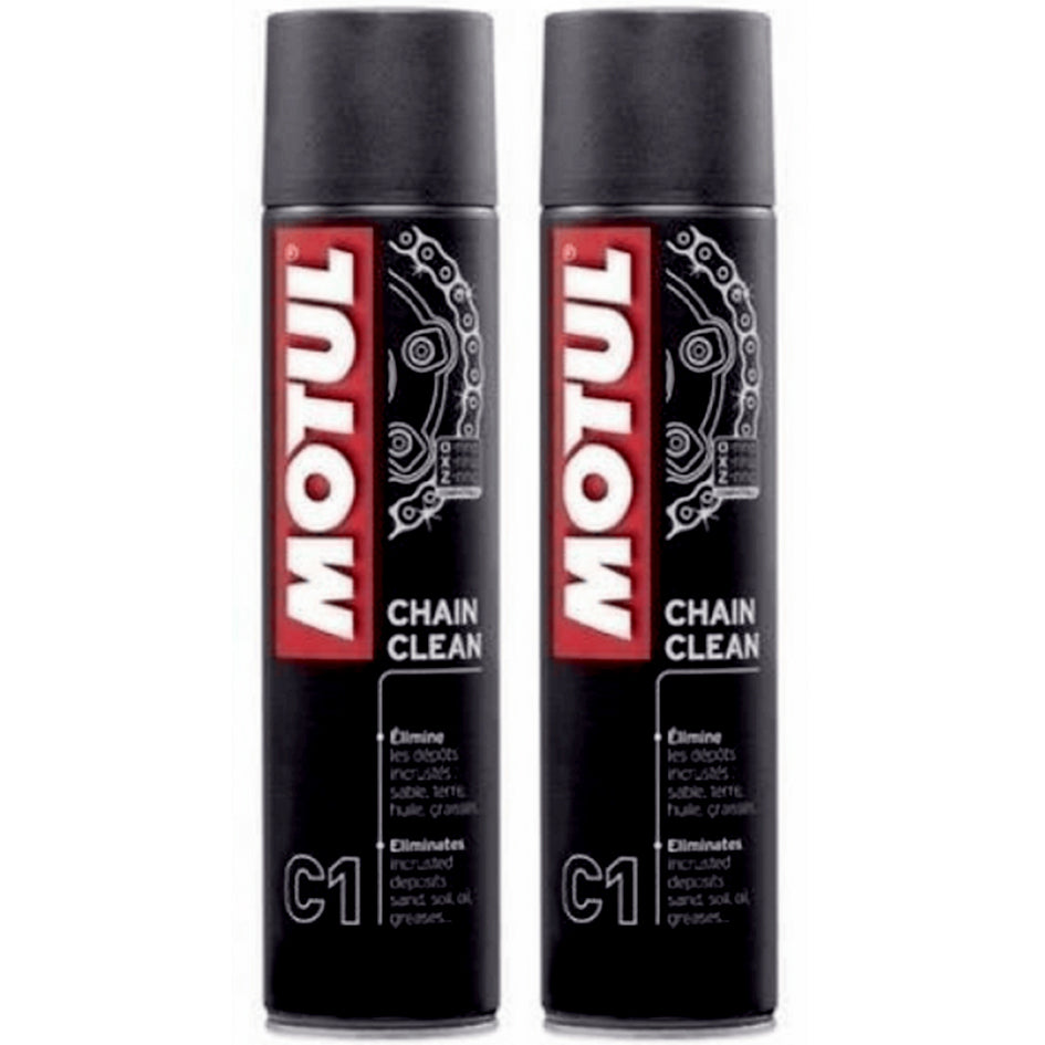 *Multi-Pack* 2 x Motul Chain Cleaner (400ml)