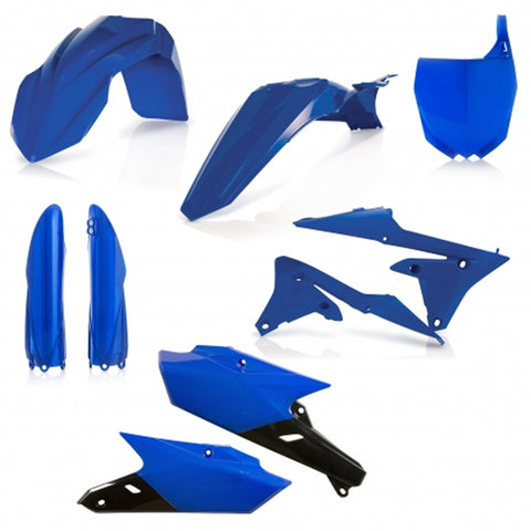 Acerbis Full Plastic Kit - Yamaha 14-18 YZ (0017563 - Blue)