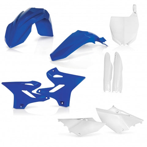Acerbis Full Plastic Kit - Yamaha 15-20 YZ/WR (0017875 - Blue/White)