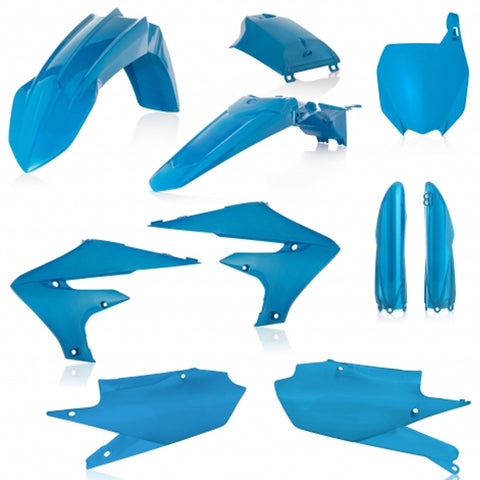 Acerbis Full Plastic Kit - Yamaha 19-20 YZ-F (0023631 - Light Blue)