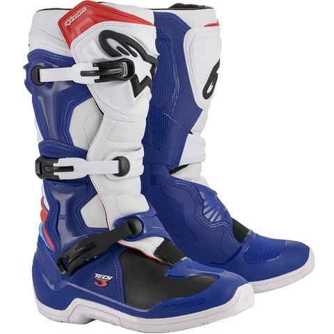 Alpinestars Tech 3 Boot (Blue/White/Red)