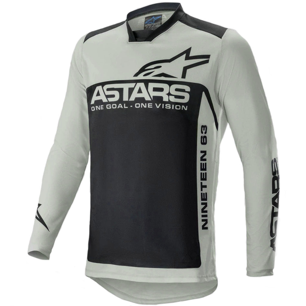 MX21 Alpinestars Racer Supermatic Jersey (Light Grey/Black)