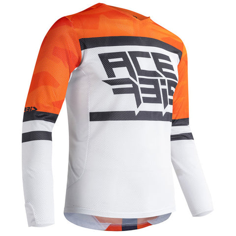 MX21 Acerbis Helios Jersey (Orange/White)