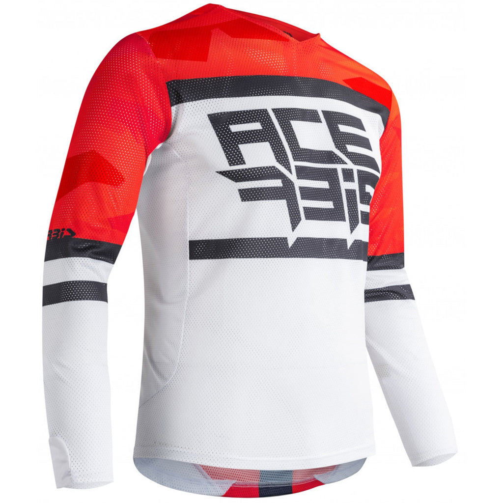 MX21 Acerbis Helios Jersey (Red/White)