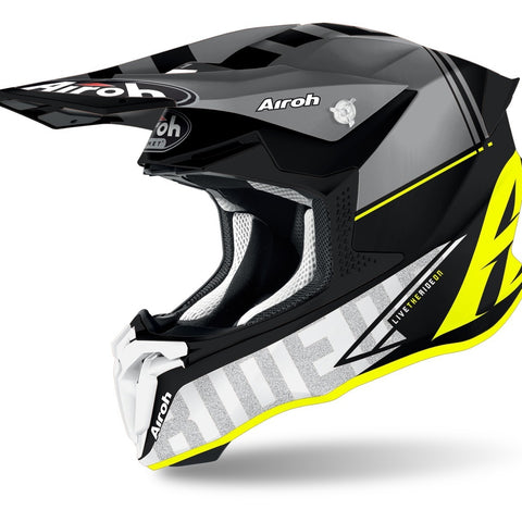Airoh Twist 2.0 Tech Helmet (Yellow Matte)