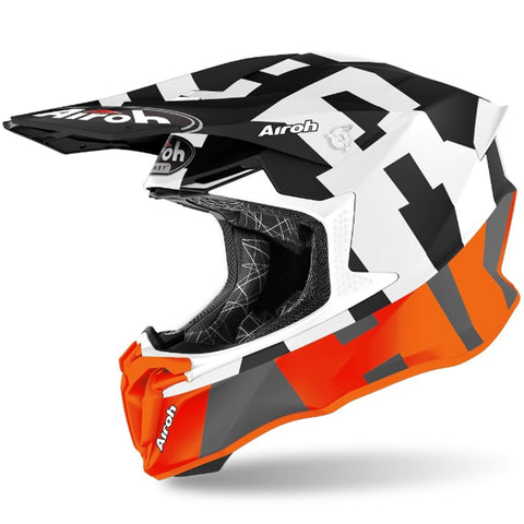 Airoh Twist 2.0 Frame Helmet (Orange Matt)