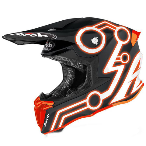 Airoh Twist 2.0 Neon Helmet (Orange Matt)