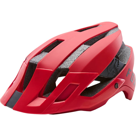 Fox MTB Flux Helmet - Bright Red