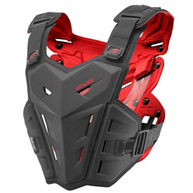 EVS F1 Roost Guard Chest Protector (Black)