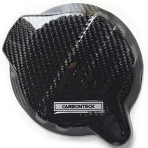 Carbon Teck Ignition Cover ('17-'19 KTM 250-300 2-Stroke)
