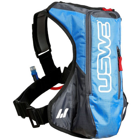 USWE A2 3L Hydration Pack (Blue/Grey)