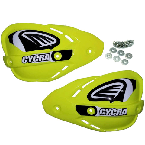 Cycra Enduro Replacement Handshields (Fluo Yellow)