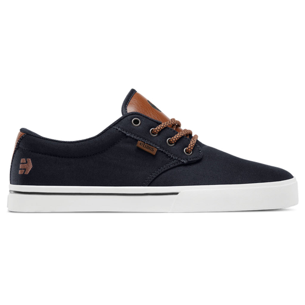 Etnies Jameson 2 Eco Casual Shoes (Navy/Tan/White)