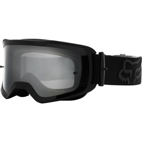 MX21 Fox Youth Main II Stray Goggles - Black (Clear Lexan Lens)