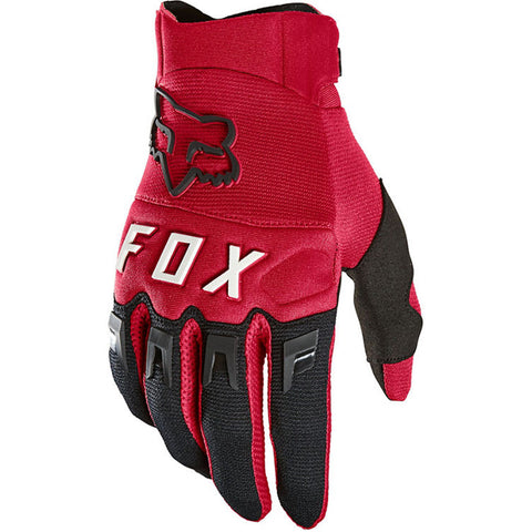 MX21 Fox Youth Dirtpaw Gloves (Flame Red)
