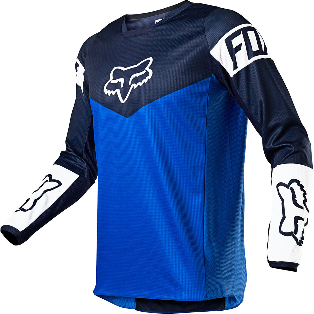 MX21 Fox 180 Revn Jersey (Blue)