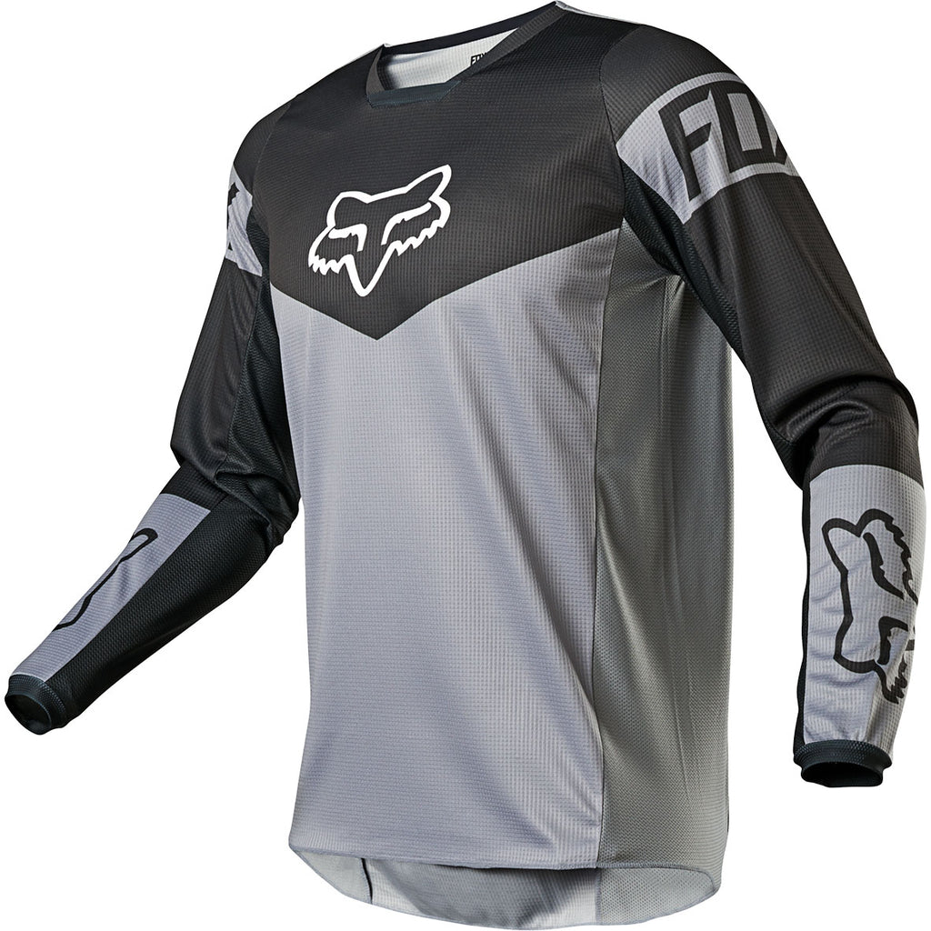 MX21 Fox 180 Revn Jersey (Steel Grey)