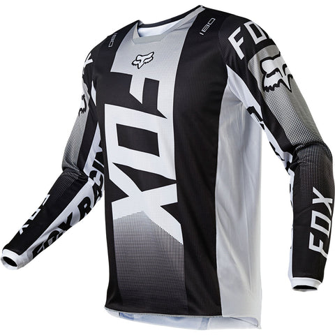 MX21 Fox 180 Oktiv Jersey (Black/White)