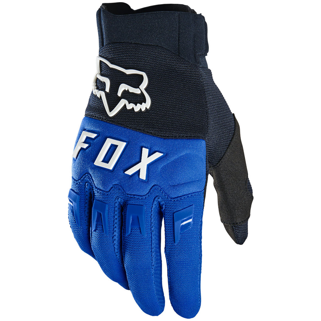 MX21 Fox Youth Dirtpaw Gloves (Blue)