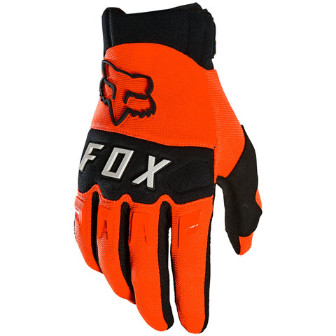 MX21 Fox Youth Dirtpaw Gloves (Fluo Orange)