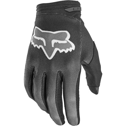 MX21 Fox Youth 180 Oktiv Gloves (Black)
