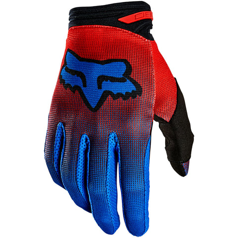 MX21 Fox Youth 180 Oktiv Gloves (Red)