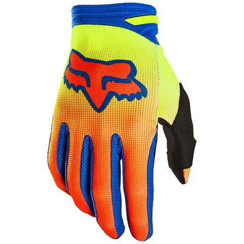 MX21 Fox Youth 180 Oktiv Gloves (Yellow)