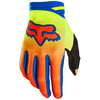 MX21 Fox Oktiv Gloves (Fluo Yellow)