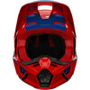 MX21 Fox Youth V1 Oktiv Helmet (Fluorescent Red)