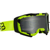 MX21 Fox Airspace II Stray Goggles - Fluo Yellow (Tinted Lexan Lens)