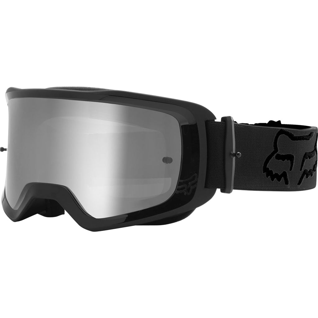 MX21 Fox Main II Stray Goggles - Black (Chrome Spark Lens)