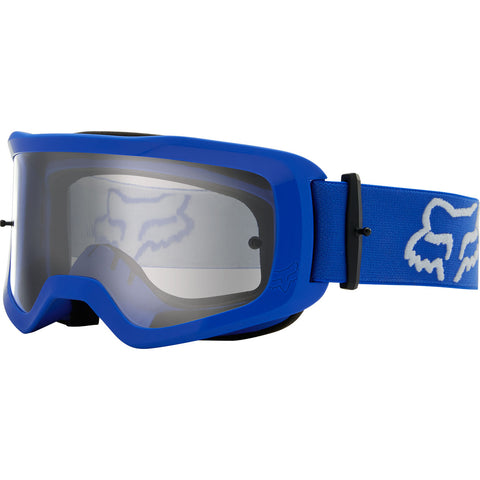 MX21 Fox Main II Stray Goggles - Blue (Clear Lexan Lens)