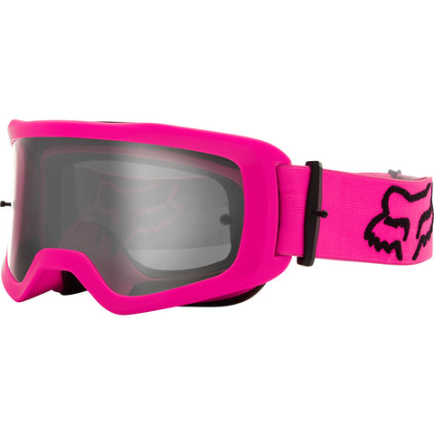 MX21 Fox Youth Main II Stray Goggles - Pink (Clear Lexan Lens)