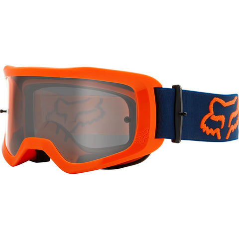 MX21 Fox Main II Stray Goggles - Fluo Orange (Clear Lexan Lens)
