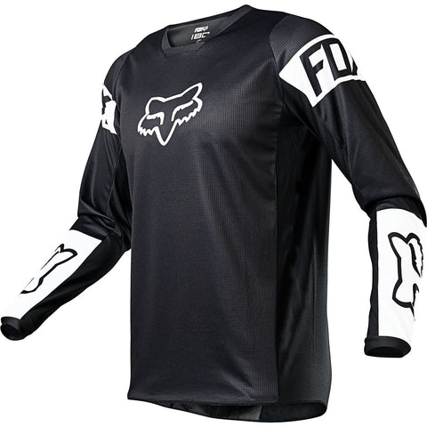 MX21 Fox Youth 180 Revn Jersey (Black/White)