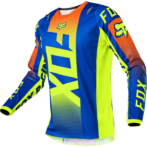 MX21 Fox Youth 180 Oktiv Jersey (Blue)