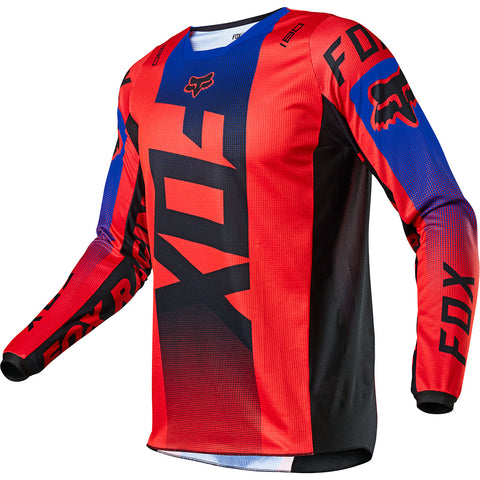 MX21 Fox Youth 180 Oktiv Jersey (Fluo Red)