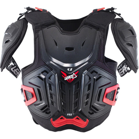 Leatt Chest Protector 4.5 Pro Junior BLK/RED