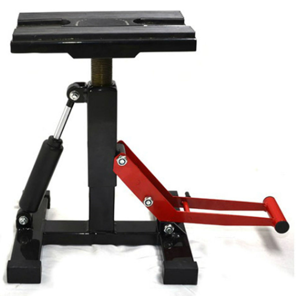 Sumomoto Adjustable Dampening MX Lift Stand (Black)