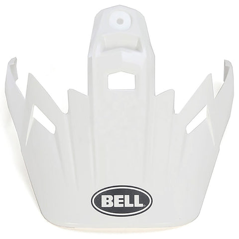 Bell MX-9 Adventure Peak (Solid White)