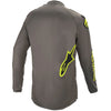 MX21 Alpinestars Fluid Speed Jersey (Dark Grey/Fluo Yellow)