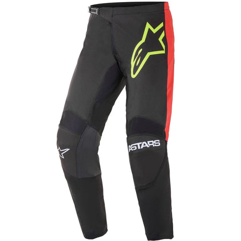 MX21 Alpinestars Fluid Tripple Pants (Black/Yellow Fluo/Bright Red)
