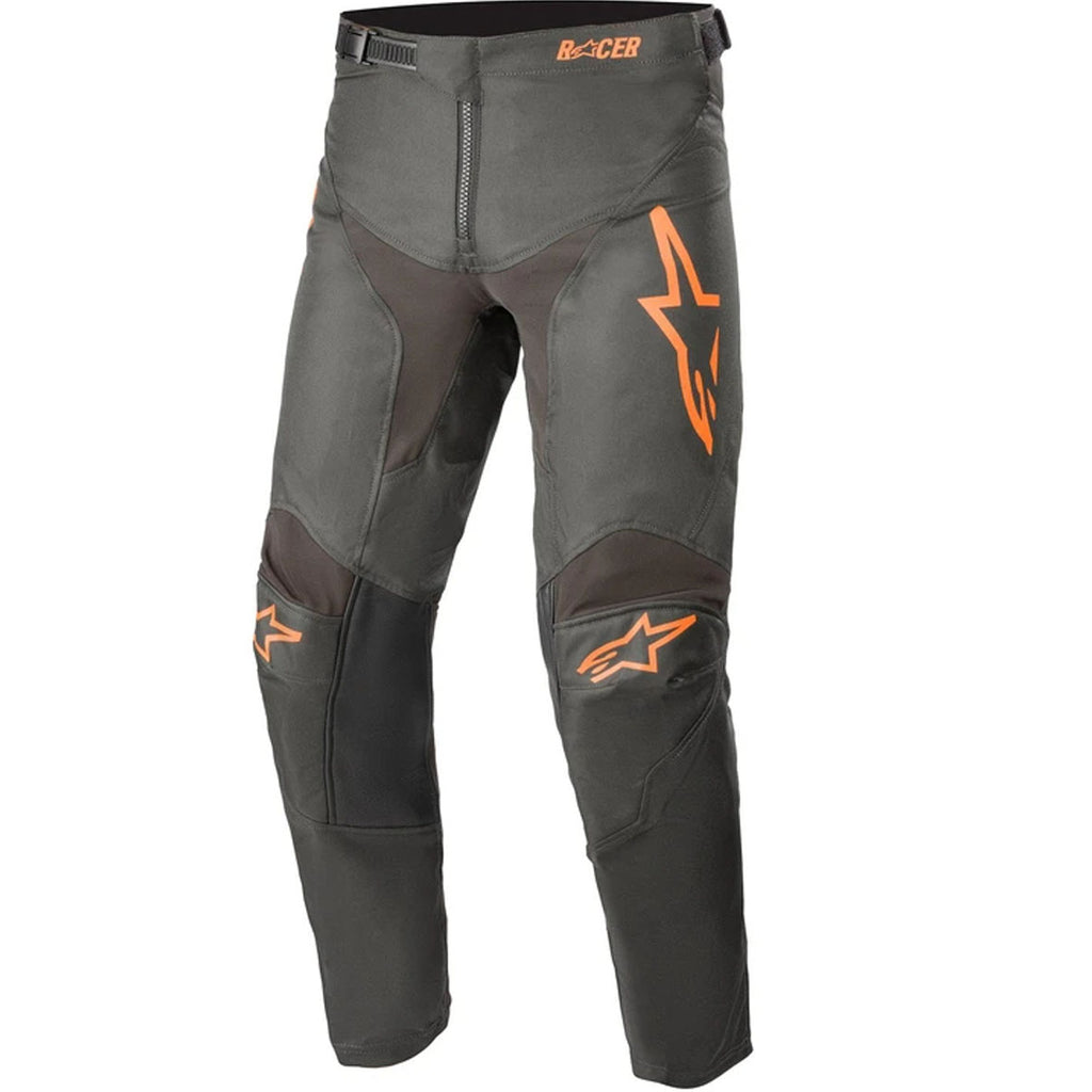 MX21 Alpinestars Youth Racer Compass Pants (Anthracite/Fluo Orange/White)